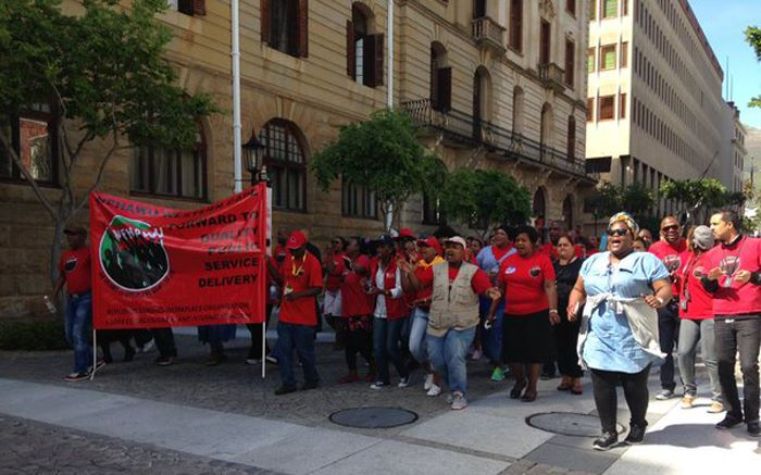 Nehawu members employed by Parliament to return to work after strike